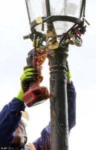 power tool locks